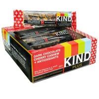 Kind Dark Chocolate Cherry Cashew + Antioxidants Bar (12x1.4 Oz)