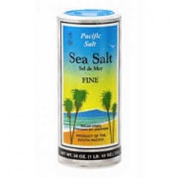 Pacific Salt Fine Sea Salt Shaker (12x26 Oz)