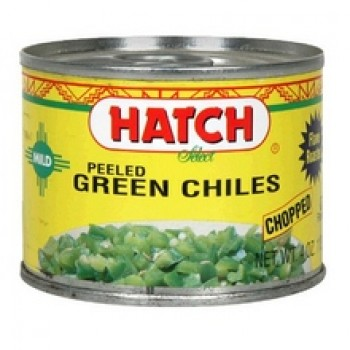Hatch Farms Green Chilies, Hot, Diced (24x4 Oz)