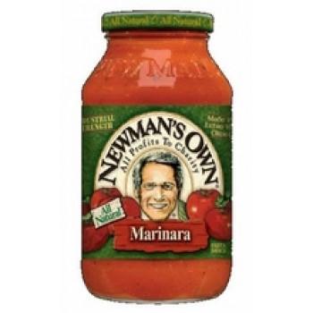 Newman's Own Marinara Pasta Sauce (12x24 Oz)