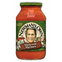 Newman's Own Marinara with Mushrooms Pasta Sauce (12x24 Oz)