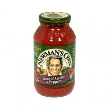 Newman's Own Garlic & Peppers Pasta Sauce (12x24 Oz)