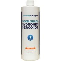 Essential Oxygen Hydrogen Peroxide 3% (1x16 Oz)