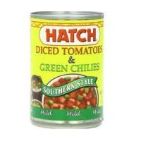 Hatch Farms Diced Green Chilies Mild (24x4 Oz)