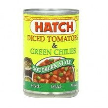 Hatch Farms Green Chilies, Mild, Diced (24x4 Oz)