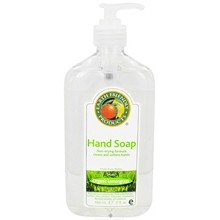 Earth Friendly Products Liquid Hand Soap, Lemongrass (6x17 Oz)