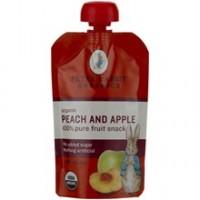 Peter Rabbit Organics Peach & Apple Fruit Snacks (10x4 Oz)