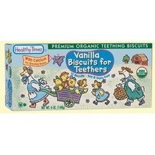 Healthy Times Vanilla Biscuits for Teether (12x6 Oz)