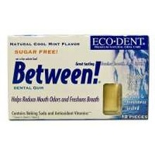 Eco-Dent Between! Cool Mint Dental Gum (12x12 pc)