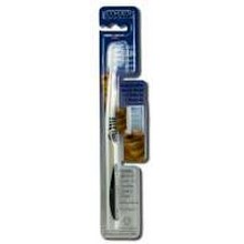 Eco-Dent TerraDent Replaceable Head Toothbrushes Adult31 Medium (6x3 PK)