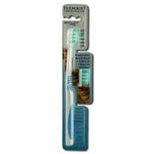 Eco-Dent TerraDent Replaceable Head Toothbrushes Adult31 Soft (6x3 PK)