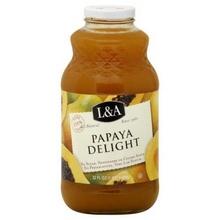 L & A Juice Papaya Delight (6x32 Oz)