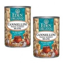 Eden Foods Cannellini Beans - White Kidney (12x29 Oz)
