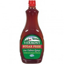 Maple Grove Vermont Maple Flavor Sugar Free Syrup (12x12 Oz)