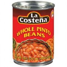 La Costena Whole Pinto Beans (12x19.75 Oz)