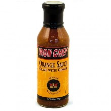 Iron Chef Orange Sauce Glaze with Ginger (6x14 Oz)