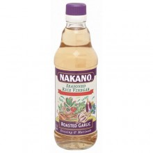 Nakano Seasoned Rice Vinegar w/ Garlic (6x12 Oz)