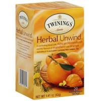 Twinings Honeybush Mandrine Orange Tea (6x20 Bag)