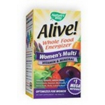 Nature's Way Alive! Women's Once Daily Ultra Potency Multi Vitamin (60 TAB)